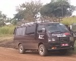 Uganda Safaris Vehicle