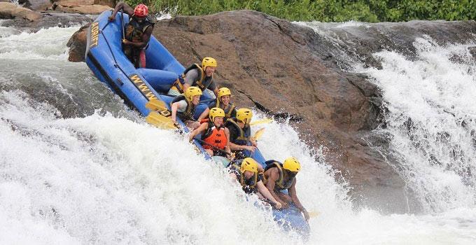 white water rafting safaris in Uganda