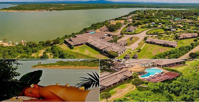 Mweya Safari Lodge in Queen Elizabeth