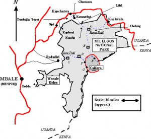 Elgon-map