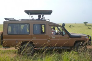 uganda Safari Vechicle