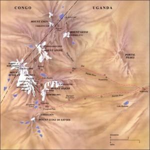 rwenzori-map