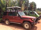 Uganda Safaris Vechicle