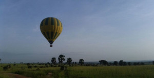 Hot air balloon safaris in Uganda