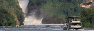Boat cruise trip to Murchison falls