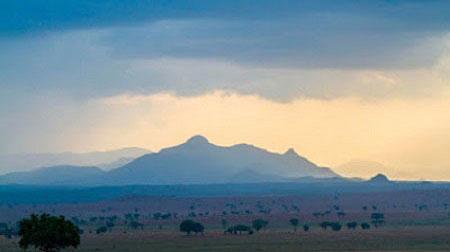Kidepo Valley Morungule Mountains
