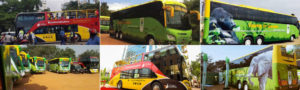 Kampala city tour buses