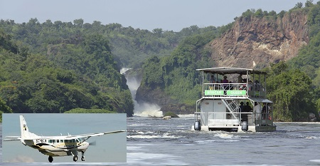 4 Days Uganda fly in safaris to Murchison Falls