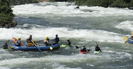 Uganda White Water Rafting day tours